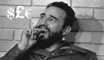 CASTRO SMOKES CIGAR