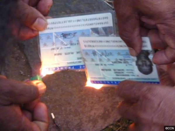 les cartes ID francaises vont être détruites